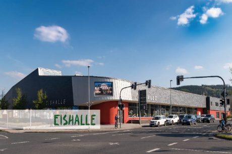 Bild von Eishalle