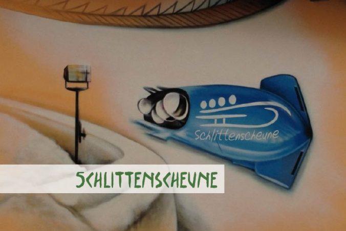 Bild von Schlittenscheune