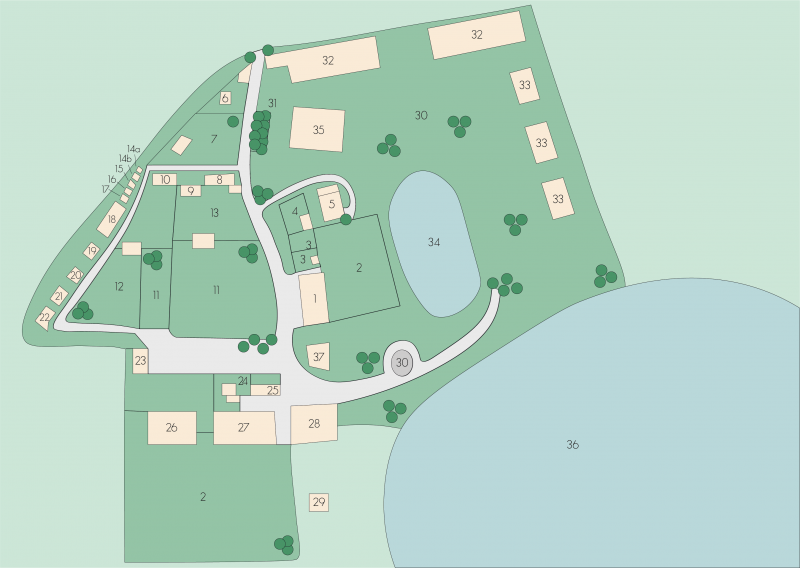 Bild vom Tierpark Lageplan