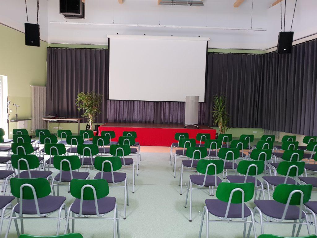 Seminarbestuhlung